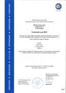Zertifizierung des TÜV Süd für den Fachbetrieb nach WHG