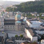 Salzburg Übersicht auf das Schloss 2011