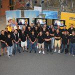 Doka Werk in Amstetten 2011 Teambild der BWS-Rhein Neckar