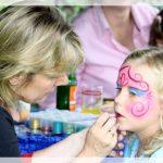 Kinderschminken auf dem Sommerfest der BWS Rhein Neckar GmbH 2011