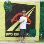 Fußballtor beim Sommerfest 2011 der BWS-Rhein Neckar GmbH