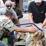 BWS-Rhein-Neckar GmbH feiert das Sommerfest 2012 mit Holzsägen